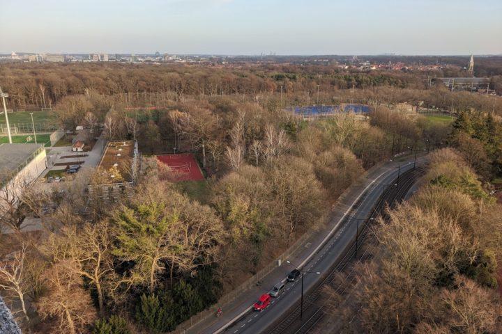 Blick auf den Stadtpark Hannover