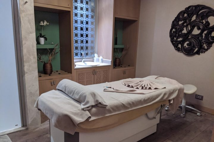 Massage-Raum im befine Spa